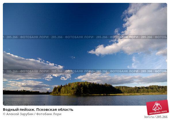 Водный пейзаж. Псковская область, фото № 285266, снято 8 сентября 2007 г. (c) Алексей Зарубин / Фотобанк Лори
