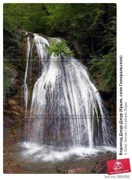 Водопад Джур-Джур (Крым, село Генеральское), фото № 304850, снято 23 мая 2008 г. (c) Олег Титов / Фотобанк Лори