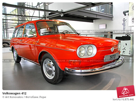 Купить «Volkswagen 412», фото № 6875446, снято 14 августа 2014 г. (c) Art Konovalov / Фотобанк Лори