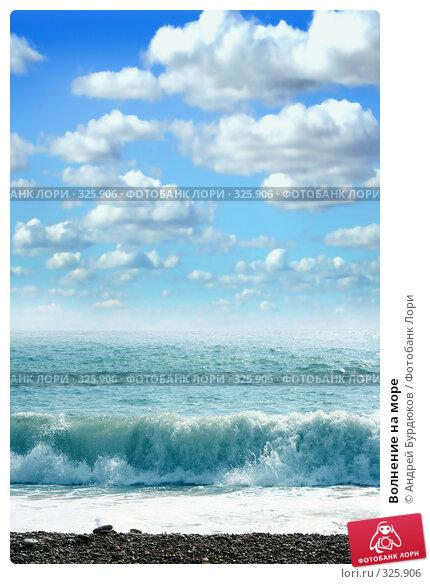 Купить «Волнение на море», фото № 325906, снято 8 августа 2007 г. (c) Андрей Бурдюков / Фотобанк Лори