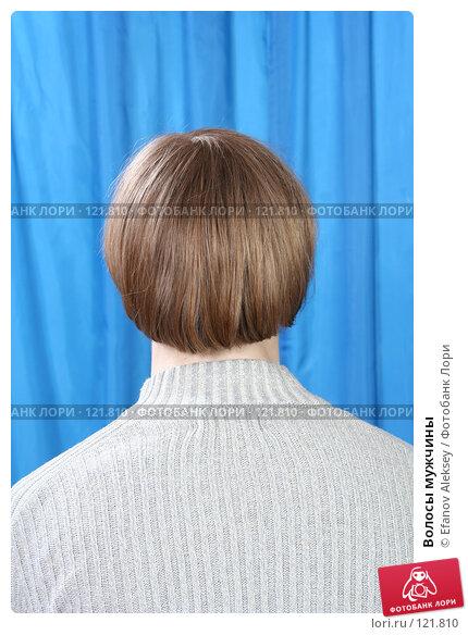 Волосы мужчины, фото № 121810, снято 22 марта 2007 г. (c) Efanov Aleksey / Фотобанк Лори