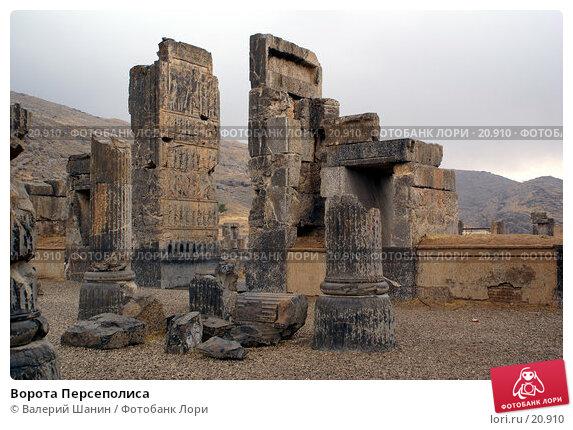 Ворота Персеполиса, фото № 20910, снято 26 ноября 2006 г. (c) Валерий Шанин / Фотобанк Лори