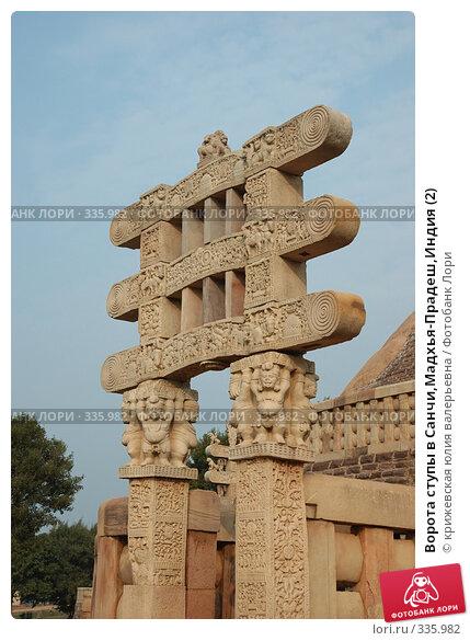 Ворота ступы в Санчи,Мадхья-Прадеш,Индия (2), фото № 335982, снято 13 декабря 2007 г. (c) крижевская юлия валерьевна / Фотобанк Лори