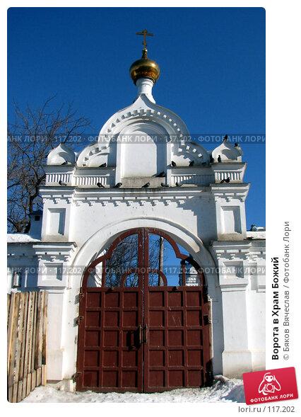 Ворота в Храм Божий, фото № 117202, снято 11 марта 2007 г. (c) Бяков Вячеслав / Фотобанк Лори