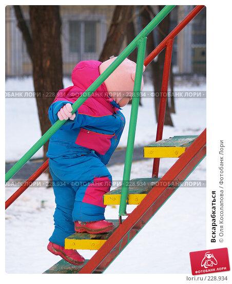 Вскарабкаться, фото № 228934, снято 27 января 2008 г. (c) Оля Косолапова / Фотобанк Лори