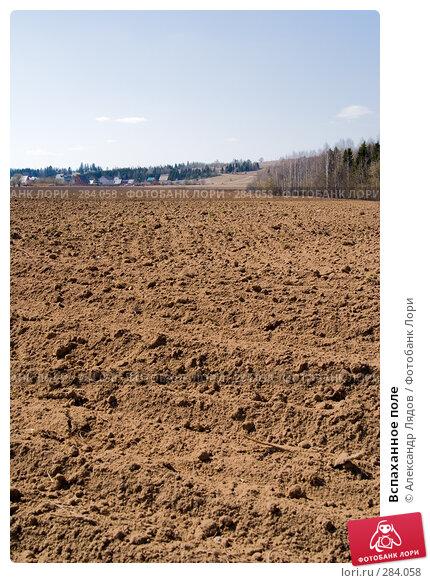 Вспаханное поле, фото № 284058, снято 3 мая 2008 г. (c) Александр Лядов / Фотобанк Лори