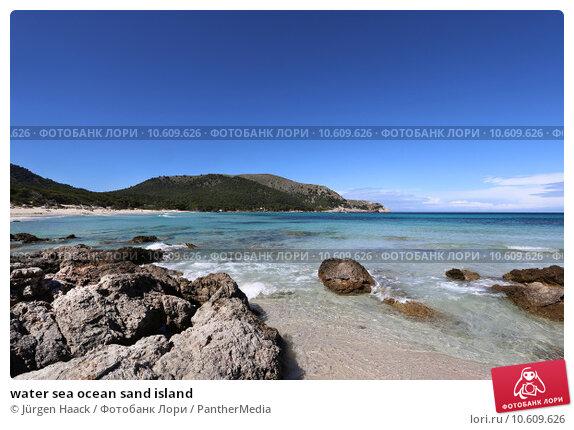 water sea ocean sand island. Стоковое фото, фотограф Jürgen Haack / PantherMedia / Фотобанк Лори