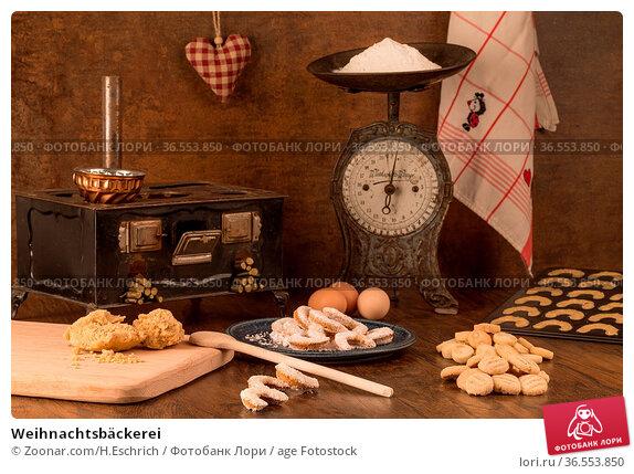 Weihnachtsbäckerei. Стоковое фото, фотограф Zoonar.com/H.Eschrich / age Fotostock / Фотобанк Лори