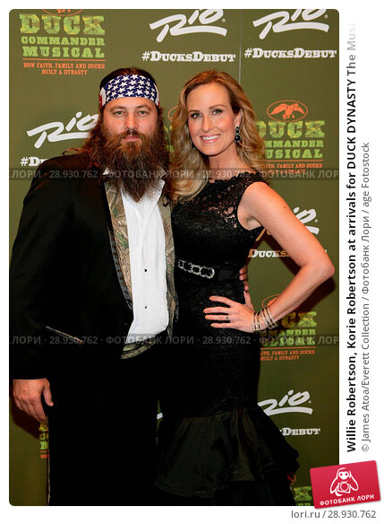 Купить «Willie Robertson, Korie Robertson at arrivals for DUCK DYNASTY The Musical Opening Night, Masquerade Stage at Rio All_Suite Hotel & Casino, New York, NY...», фото № 28930762, снято 22 августа 2018 г. (c) age Fotostock / Фотобанк Лори