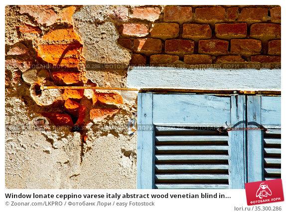 Window lonate ceppino varese italy abstract wood venetian blind in... Стоковое фото, фотограф Zoonar.com/LKPRO / easy Fotostock / Фотобанк Лори