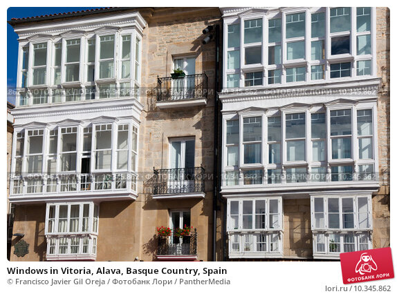 windows in vitoria