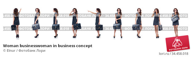 Woman businesswoman in business concept. Стоковое фото, фотограф Elnur / Фотобанк Лори
