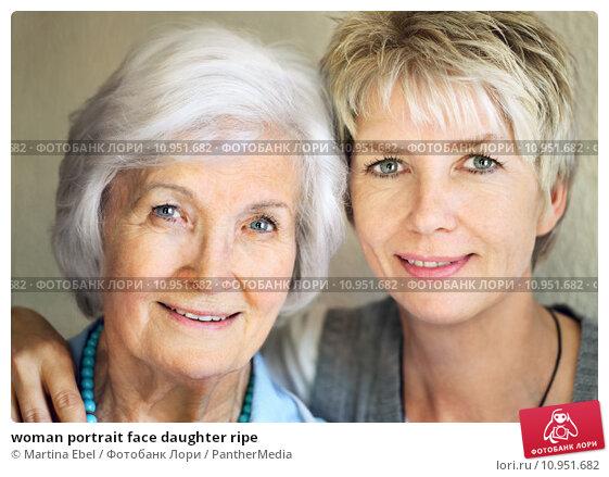 Купить «woman portrait face daughter ripe», фото № 10951682, снято 18 мая 2018 г. (c) PantherMedia / Фотобанк Лори