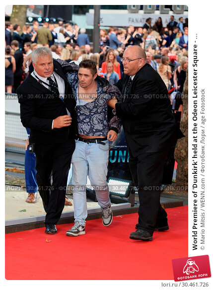 World Premiere of 'Dunkirk' held at the Odeon Leicester Square - ... (2017 год). Редакционное фото, фотограф Mario Mitsis / WENN.com / age Fotostock / Фотобанк Лори