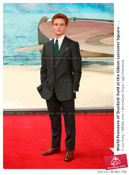 World Premiere of 'Dunkirk' held at the Odeon Leicester Square - ... (2017 год). Редакционное фото, фотограф Lia Toby / WENN.com / age Fotostock / Фотобанк Лори