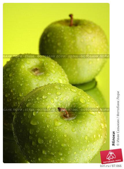 Купить «Яблоки», фото № 87066, снято 18 января 2004 г. (c) Иван Сазыкин / Фотобанк Лори