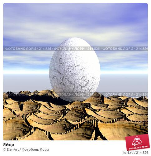 Купить «Яйцо», иллюстрация № 214826 (c) ElenArt / Фотобанк Лори