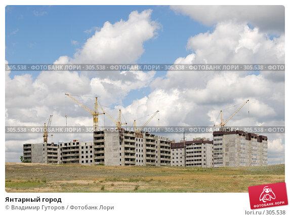 Янтарный город, фото № 305538, снято 26 марта 2017 г. (c) Владимир Гуторов / Фотобанк Лори