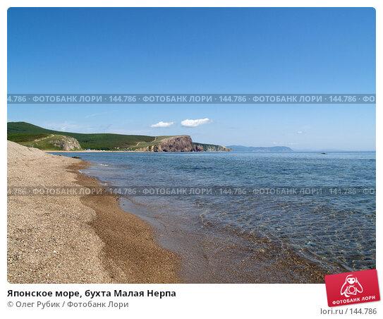 Купить «Японское море, бухта Малая Нерпа», фото № 144786, снято 19 августа 2007 г. (c) Олег Рубик / Фотобанк Лори
