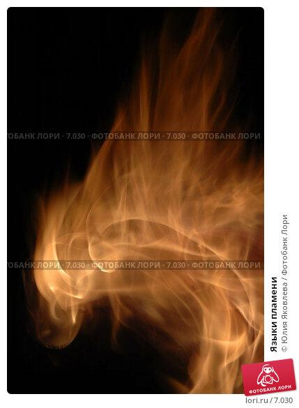 Языки пламени, фото № 7030, снято 23 июля 2006 г. (c) Юлия Яковлева / Фотобанк Лори