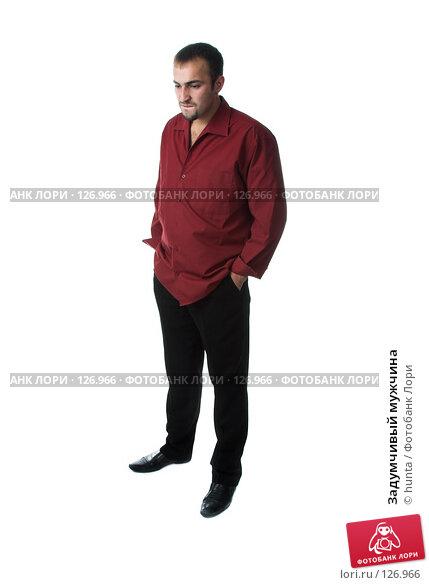 Купить «Задумчивый мужчина», фото № 126966, снято 12 октября 2007 г. (c) hunta / Фотобанк Лори