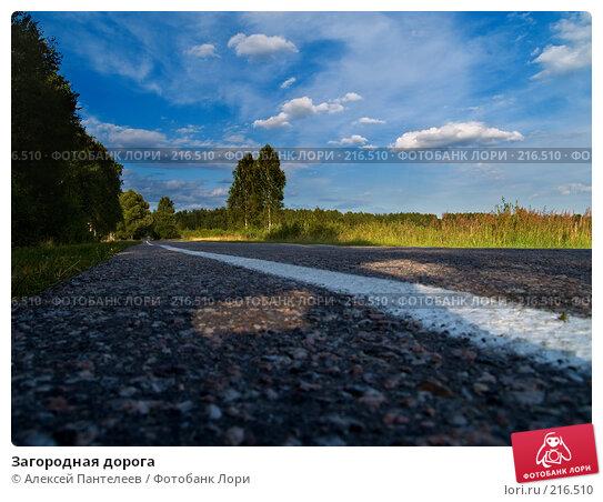 Загородная дорога, фото № 216510, снято 23 июля 2007 г. (c) Алексей Пантелеев / Фотобанк Лори