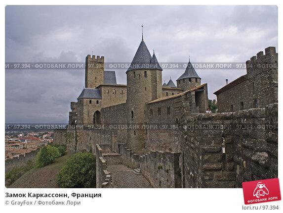 Замок Каркассонн, Франция, фото № 97394, снято 4 октября 2007 г. (c) GrayFox / Фотобанк Лори