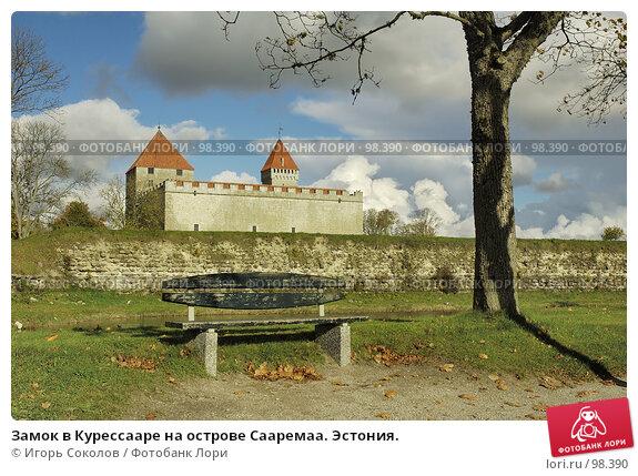 Замок в Курессааре на острове Сааремаа. Эстония., фото № 98390, снято 26 октября 2016 г. (c) Игорь Соколов / Фотобанк Лори