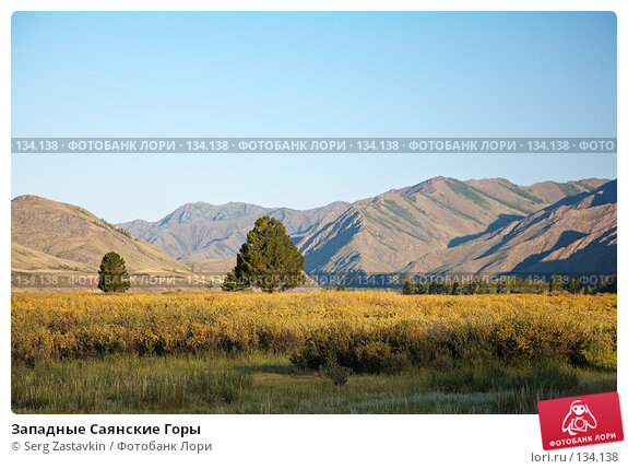 Западные Саянские Горы, фото № 134138, снято 26 июня 2006 г. (c) Serg Zastavkin / Фотобанк Лори
