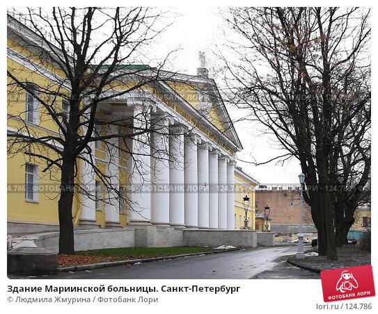 Здание Мариинской больницы. Санкт-Петербург, фото № 124786, снято 22 июля 2017 г. (c) Людмила Жмурина / Фотобанк Лори