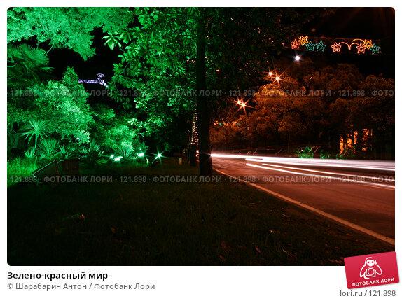 Купить «Зелено-красный мир», фото № 121898, снято 4 мая 2007 г. (c) Шарабарин Антон / Фотобанк Лори