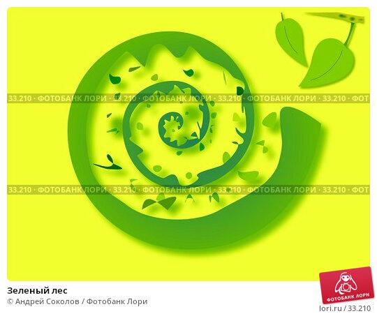 Зеленый лес, иллюстрация № 33210 (c) Андрей Соколов / Фотобанк Лори