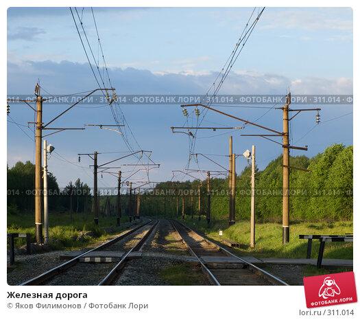 Железная дорога, фото № 311014, снято 29 мая 2008 г. (c) Яков Филимонов / Фотобанк Лори