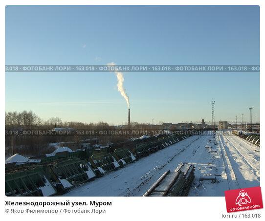 Железнодорожный узел. Муром, фото № 163018, снято 23 декабря 2007 г. (c) Яков Филимонов / Фотобанк Лори