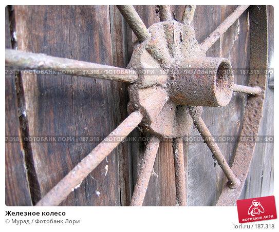 Железное колесо, фото № 187318, снято 26 июня 2007 г. (c) Мурад / Фотобанк Лори