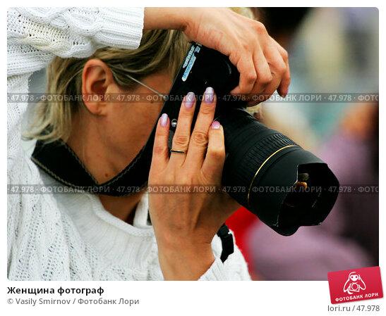 Женщина фотограф, фото № 47978, снято 18 июня 2005 г. (c) Vasily Smirnov / Фотобанк Лори