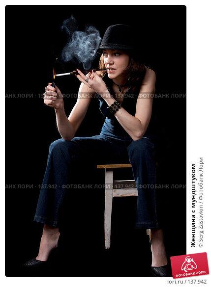 Женщина с мундштуком, фото № 137942, снято 19 апреля 2007 г. (c) Serg Zastavkin / Фотобанк Лори
