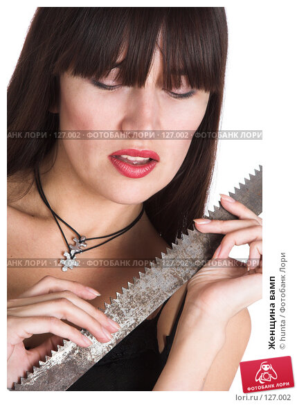 Купить «Женщина вамп», фото № 127002, снято 25 октября 2007 г. (c) hunta / Фотобанк Лори