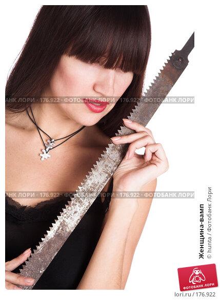 Женщина-вамп, фото № 176922, снято 25 октября 2007 г. (c) hunta / Фотобанк Лори