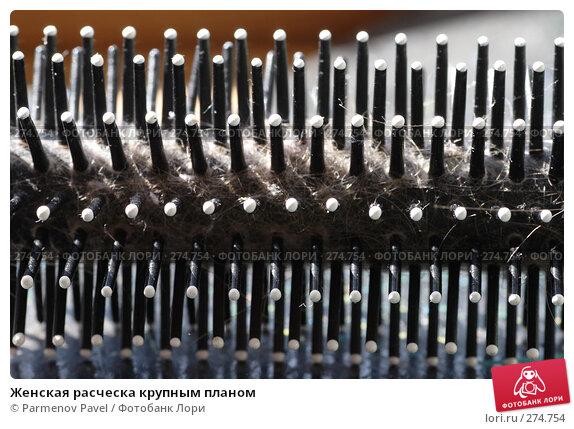 Купить «Женская расческа крупным планом», фото № 274754, снято 5 мая 2008 г. (c) Parmenov Pavel / Фотобанк Лори