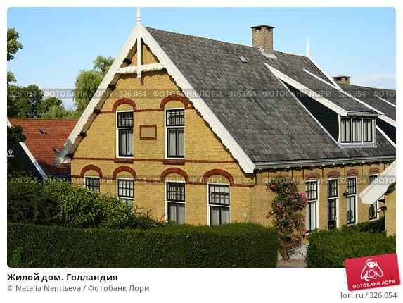 Купить «Жилой дом. Голландия», эксклюзивное фото № 326054, снято 14 июня 2008 г. (c) Natalia Nemtseva / Фотобанк Лори
