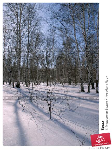 Зима, фото № 132642, снято 3 марта 2007 г. (c) Мударисов Вадим / Фотобанк Лори