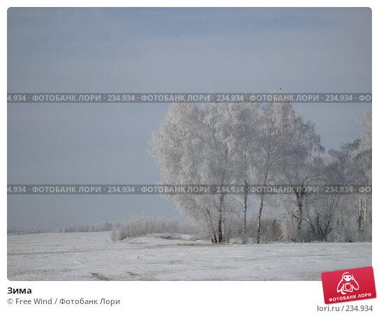 Зима, эксклюзивное фото № 234934, снято 5 июня 2007 г. (c) Free Wind / Фотобанк Лори