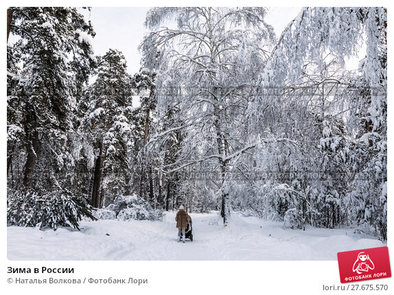 Купить «Зима в России», фото № 27675570, снято 9 февраля 2018 г. (c) Наталья Волкова / Фотобанк Лори