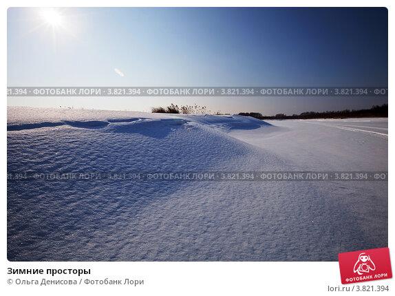 Купить «Зимние просторы», фото № 3821394, снято 9 марта 2012 г. (c) Ольга Денисова / Фотобанк Лори