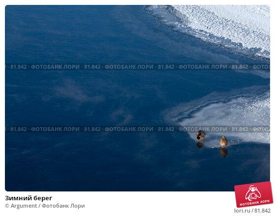 Зимний берег, фото № 81842, снято 9 февраля 2007 г. (c) Argument / Фотобанк Лори