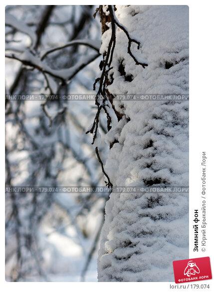 Зимний фон, фото № 179074, снято 18 ноября 2007 г. (c) Юрий Брыкайло / Фотобанк Лори
