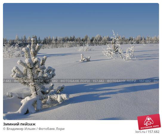 Зимний пейзаж, фото № 157682, снято 23 декабря 2007 г. (c) Владимир Ильин / Фотобанк Лори