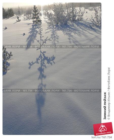 Зимний пейзаж, фото № 161734, снято 24 декабря 2007 г. (c) Владимир Ильин / Фотобанк Лори