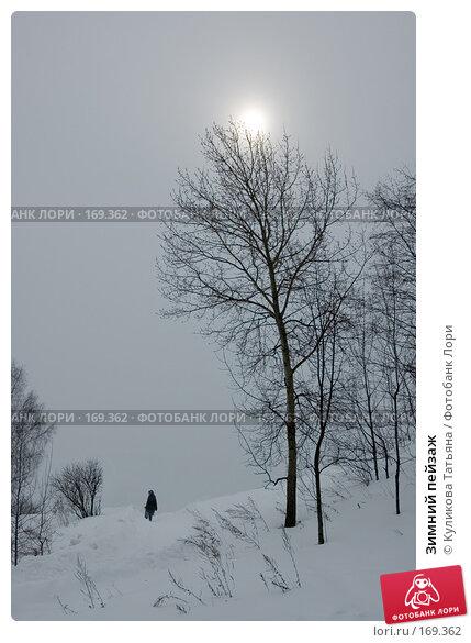 Зимний пейзаж, фото № 169362, снято 26 октября 2016 г. (c) Куликова Татьяна / Фотобанк Лори